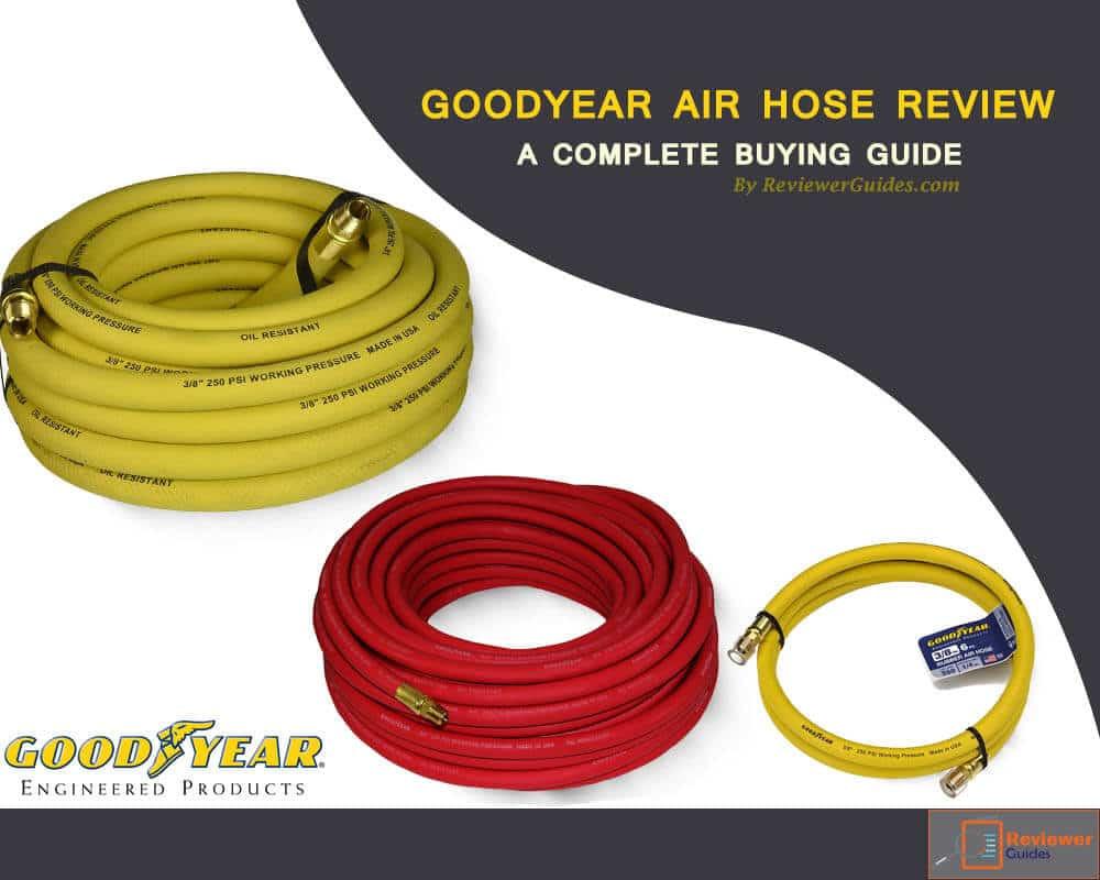 Good Year 12674 Rubber Air Hose Red 50-Feet x 3//8-Inch