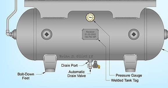 Automatic Air Compressor Drain