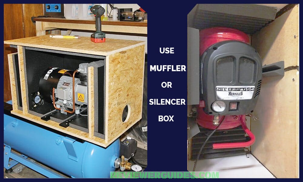 Air Compressor Noise Reduction Box