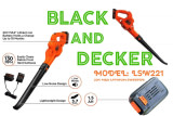 Black And Decker 20v Blower Reviews (Model-LSW221)