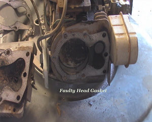 Damaged Head Gasket