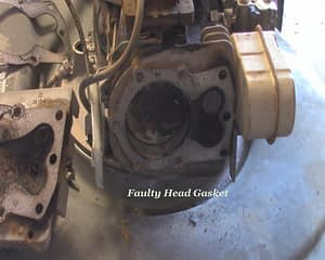 Damaged Head Gasket