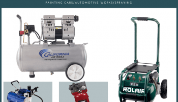 Best Air Compressor for Painting Cars/Automotive/Spraying