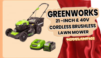 GreenWorks 40V Cordless Lawn Mower Review