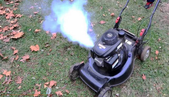Lawn Mower White Smoke: How to Fix it?