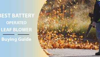 Best Battery Operated Leaf Blower Review-2020