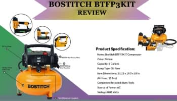 Bostitch BTFP3KIT Review ( Combo kit Compressor)