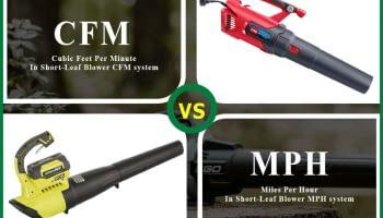 Leaf Blower CFM vs MPH: Which One Worthy?