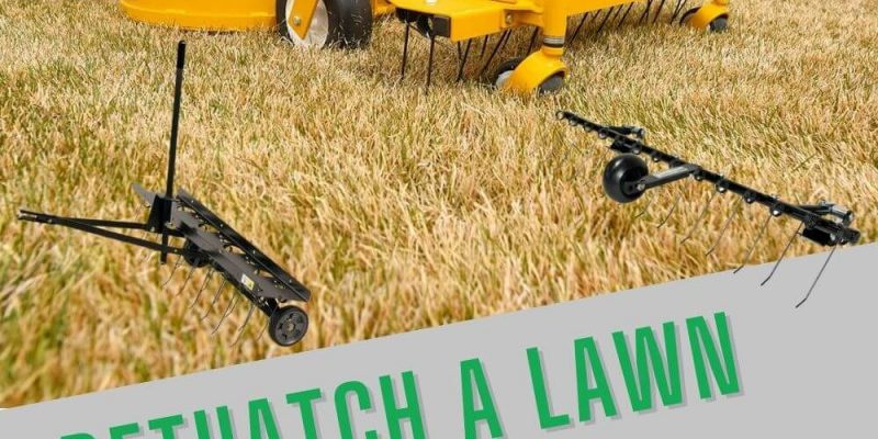 How to Dethatch a Lawn With a Mower Attachment: A Complete Step by Step Guide to Follow