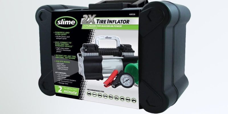Slime 2X Tire Inflator Review