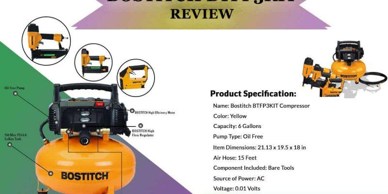 Bostitch BTFP3KIT Review ( Combo kit Compressor)
