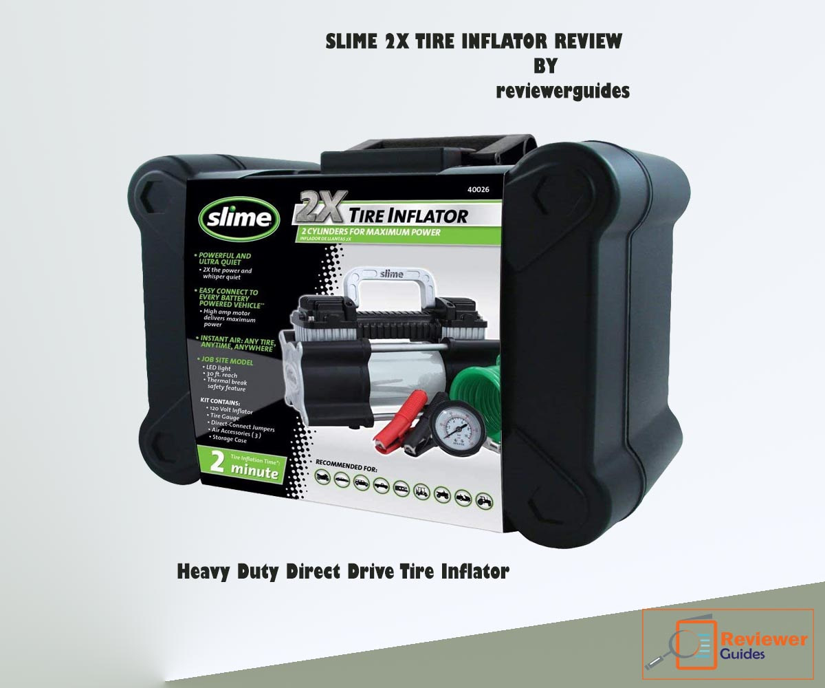 Slime 2X Tire Inflator Review-in 2021