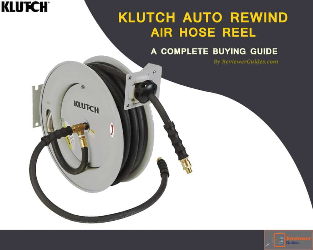 Klutch Air Hose Reel Review- Best Auto Rewind Reels!