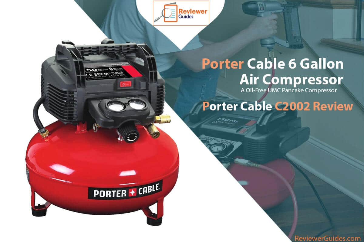 Porter Cable C2002 Review (6 Gallon Air Compressor)