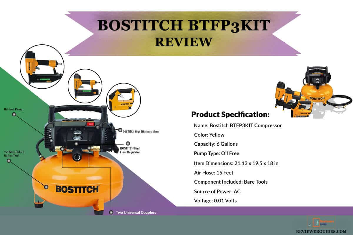 Bostitch BTFP3KIT Review (Combo kit Compressor)